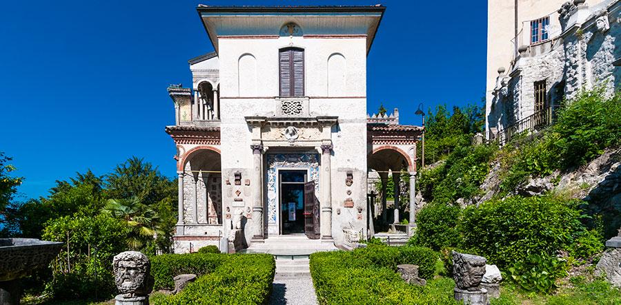 Virtual tour: Ingresso della Casa Museo Pogliaghi