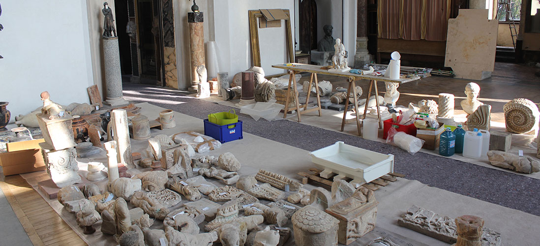 Opere all'interno Casa Museo Pogliaghi