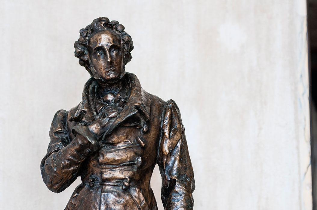 Vincenzo Bellini statua bronzea