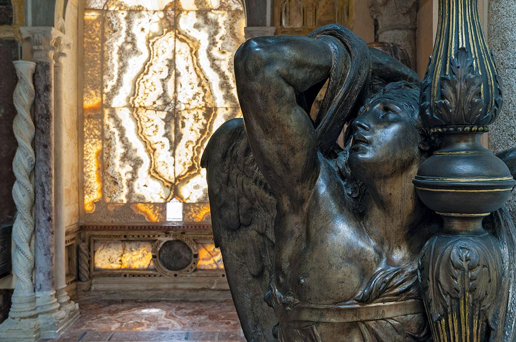 Atelier, angelo candelabro bronzeo, gruppo per la Chiesa Primaziale di Pisa
