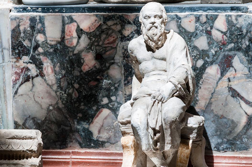 Platone, ricomposto I d.C e sec XIX
