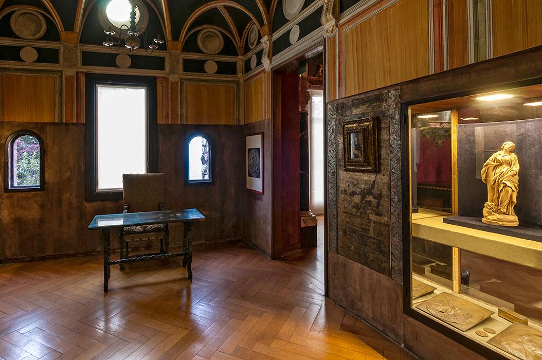 Bilbioteca della Casa Museo Pogliaghi