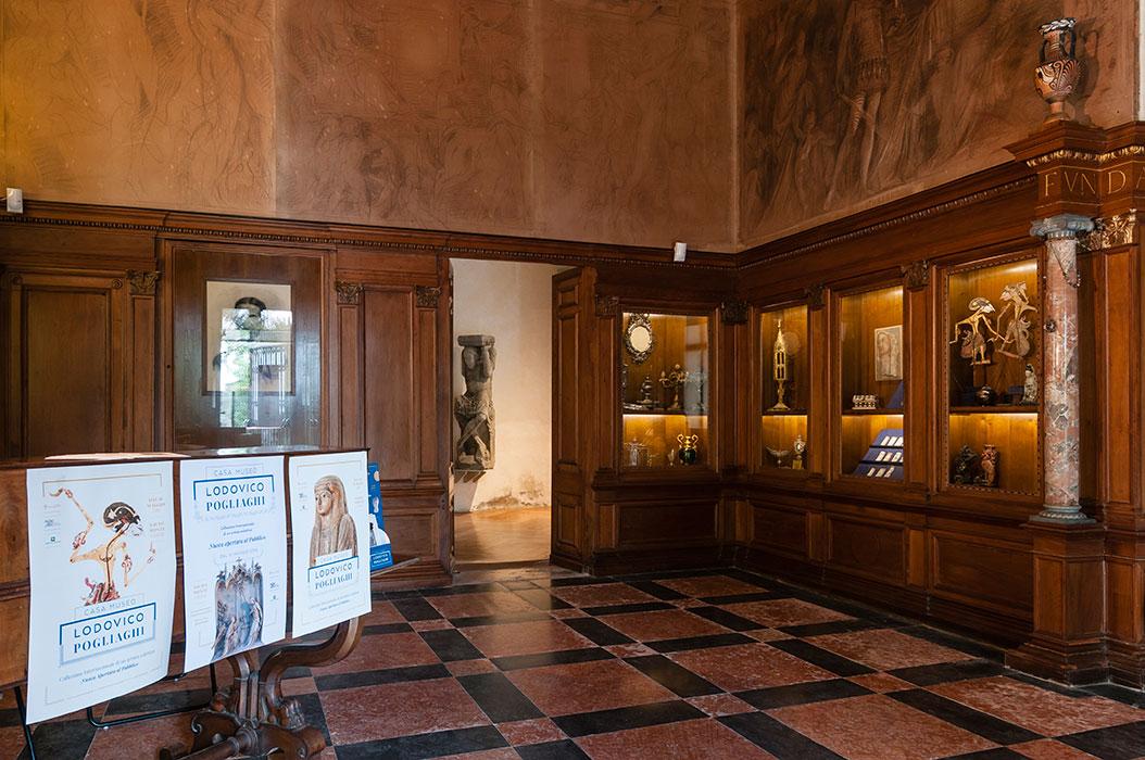Sala delle Madonne, il primo passo dentro la Casa-Museo