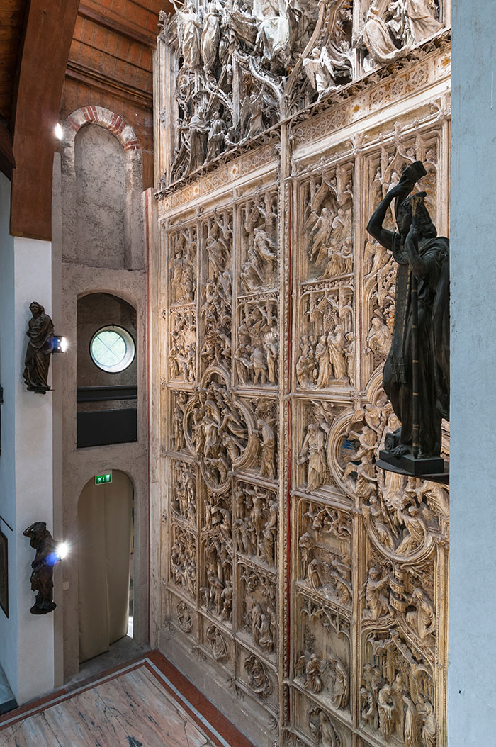 Atelier, Portale del Duomo, modello in gesso