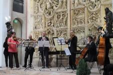 L'Orchestra da Camera di Engelberg durante il concerto del 21 settembre 2014