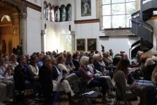 Il pubblico del primo concerto della Casa Museo Lodovico Pogliaghi