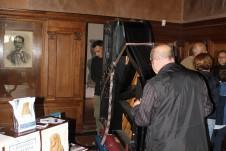 Il trasporto del pianoforte per il concerto del 19 ottobre 2014 alla Casa Museo Lodovico Pogliaghi