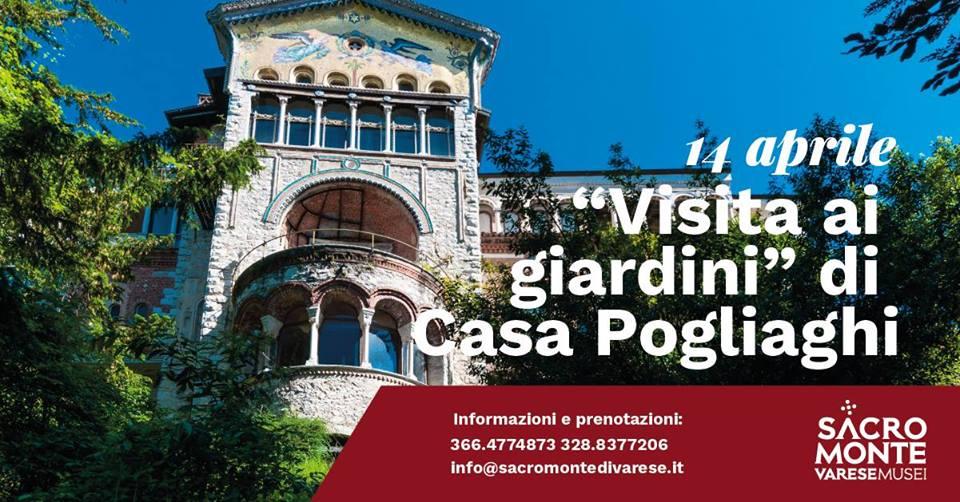 I giardini di Casa Pogliaghi_14 aprile 2019